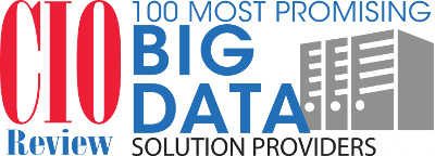 IRI CIO 100 Most Promising Big Data Solution Providers Award Graphic