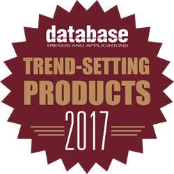 an award by DBTA to the IRI Data Protector Suite for being a 2017 Trend-Setting Product
