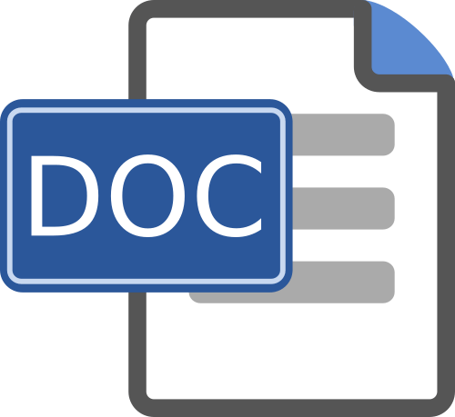word doc file icon