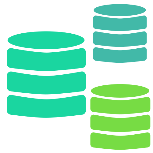 database migration and replication icon