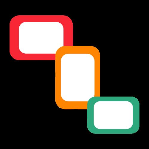 visual workflow designer icon