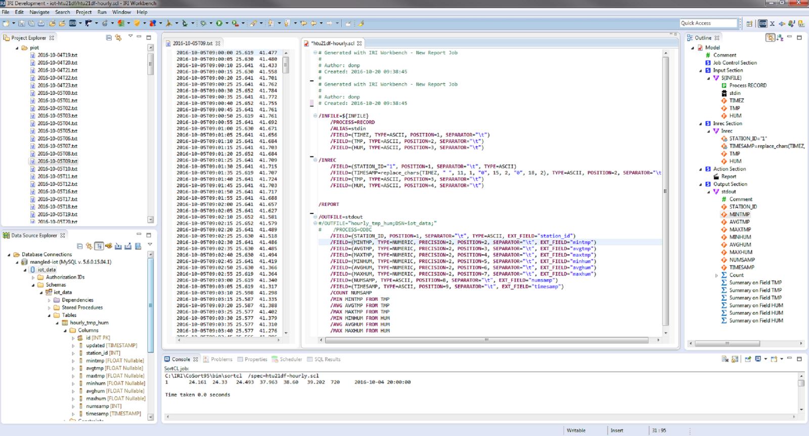 IRI Workbench with IoT stuff
