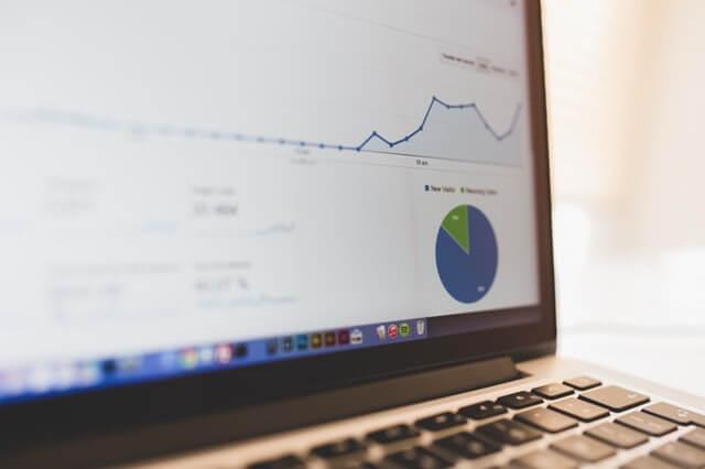 analytics on a computer