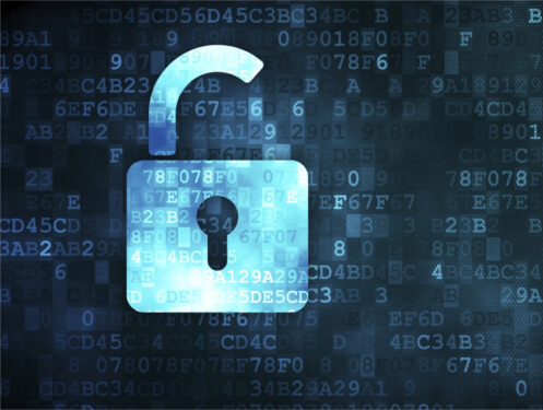 A data padlock