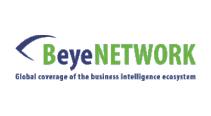 The B-Eye-Network logo, which is hosting the Production Analytic Platform podcast