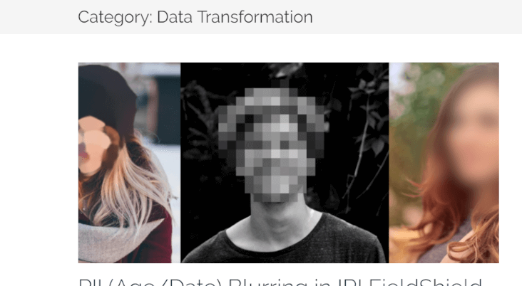 Data Transformation Blog Category