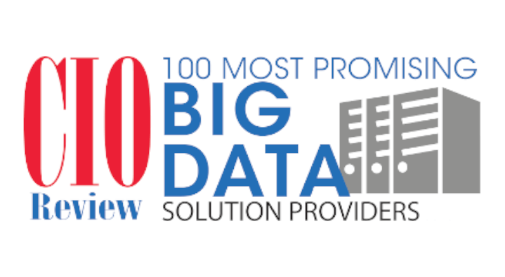 CIO Review Top 100 Most Promising Big Data Companies