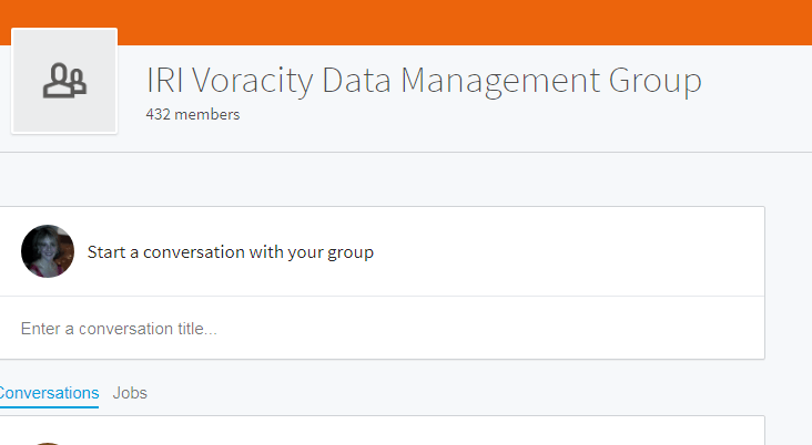 Voracity Total Data Management LinkedIn Group