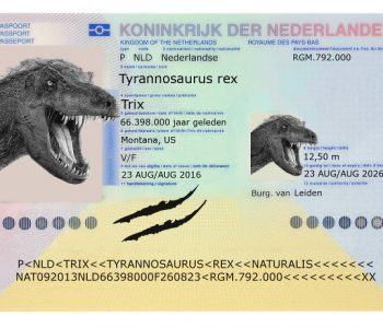 dutch t-rex passport