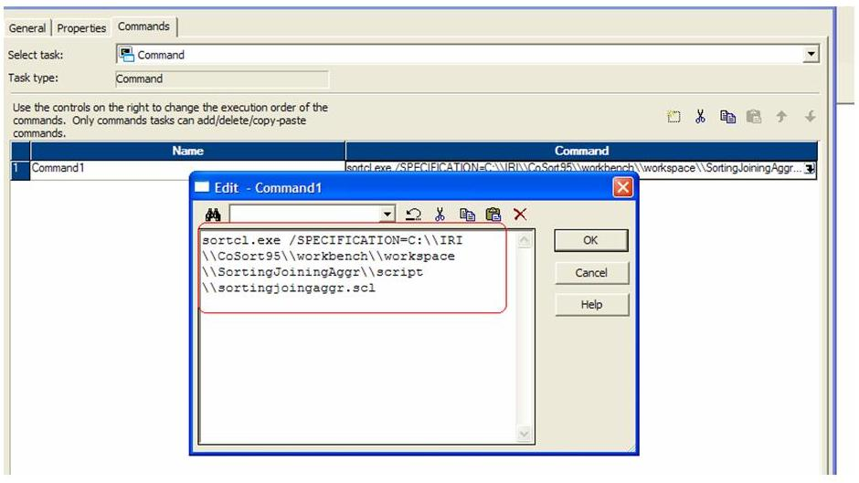 PowerCenter calling a SortCL script to speed big data in Informatica