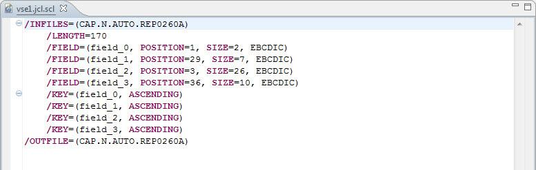 Converting & Upgrading VSE JCL Sort Parms - IRI