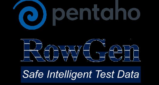 pentaho rowgen combined logo