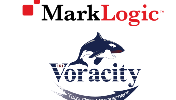 MarkLogic Voracity combined logo
