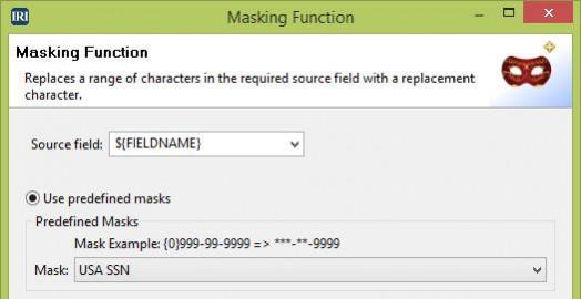 Masking Function