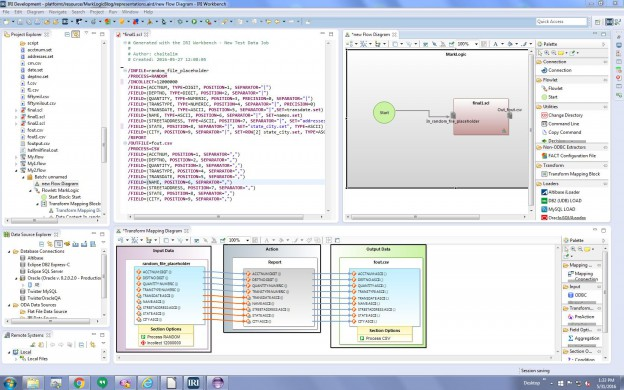 Building Test Data via RowGen in the IRI Workbench GUI
