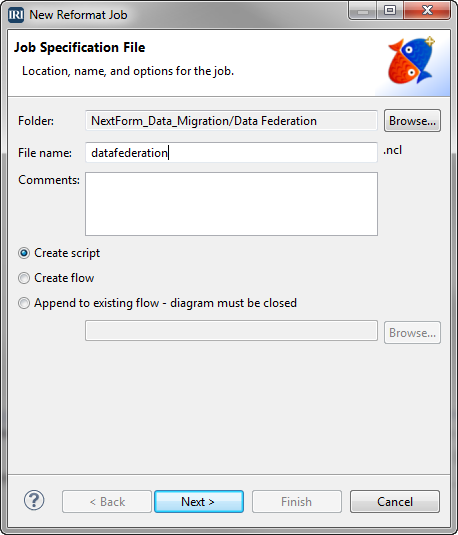 Job Specification File