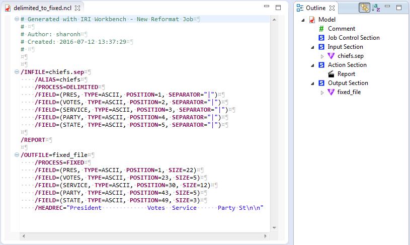 Data Targets script