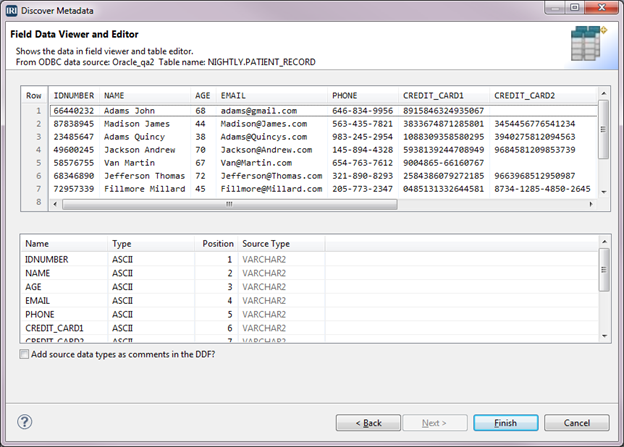 Field Data Viewer and Editor