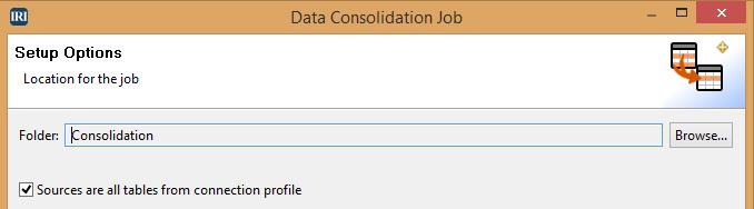 Data Consolidation Job