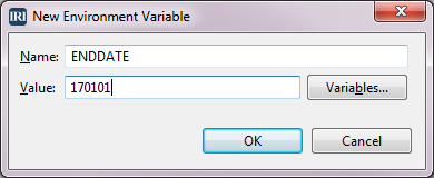 New Environment Variable