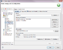 Post image for Execution Options in IRI Workbench
