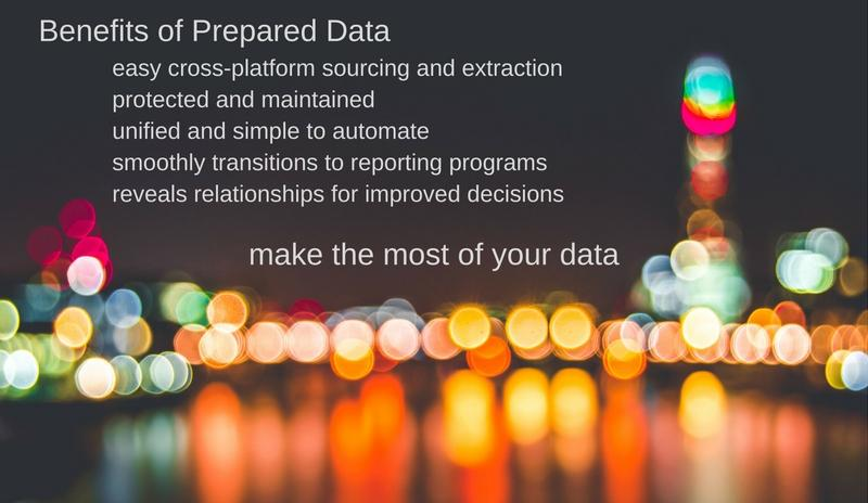 Benefits of Prepared Data