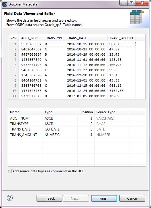 Discover Metadata
