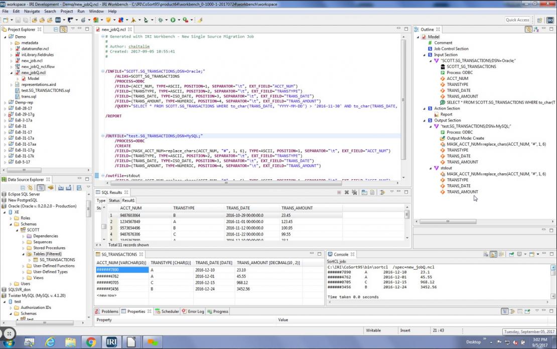 Incremental Data Replication in IRI Workbench - IRI