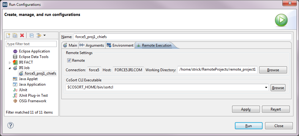 Run Configurations2
