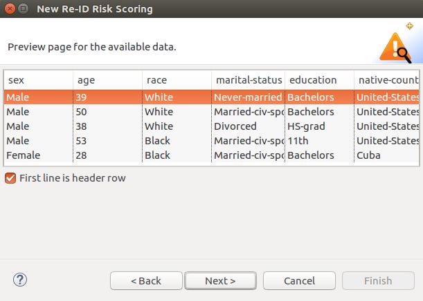 new de-id risk scoring preview