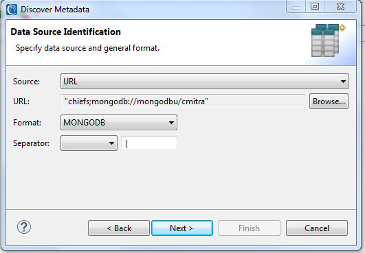 native mongodb masking data source identification