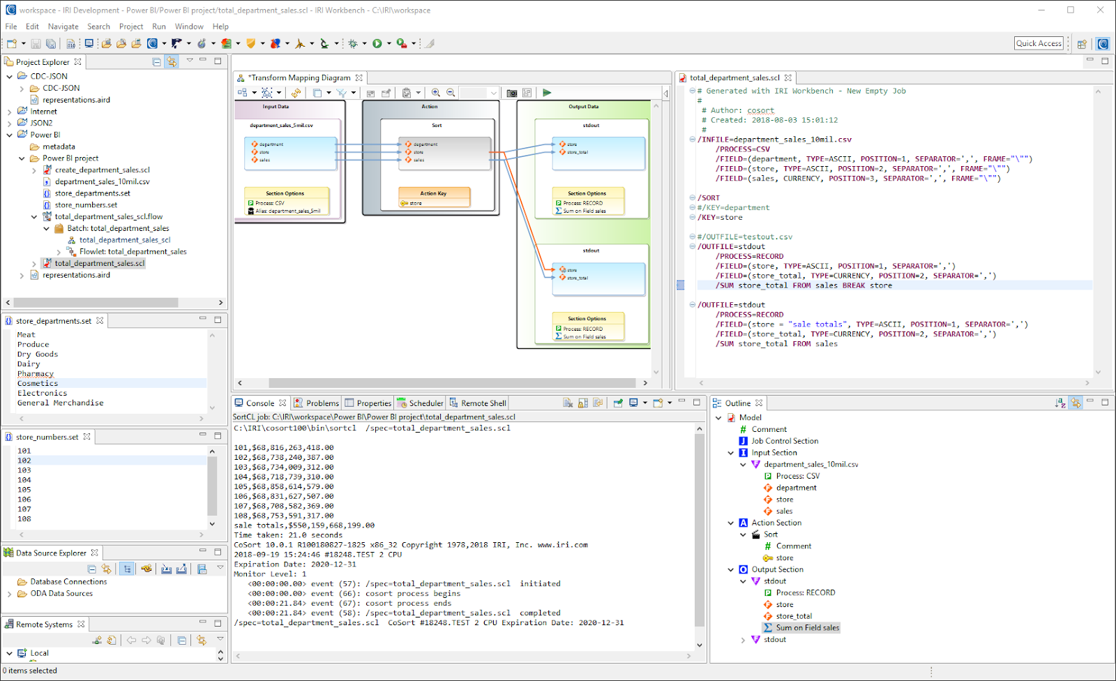 IRI Workbench screenshot