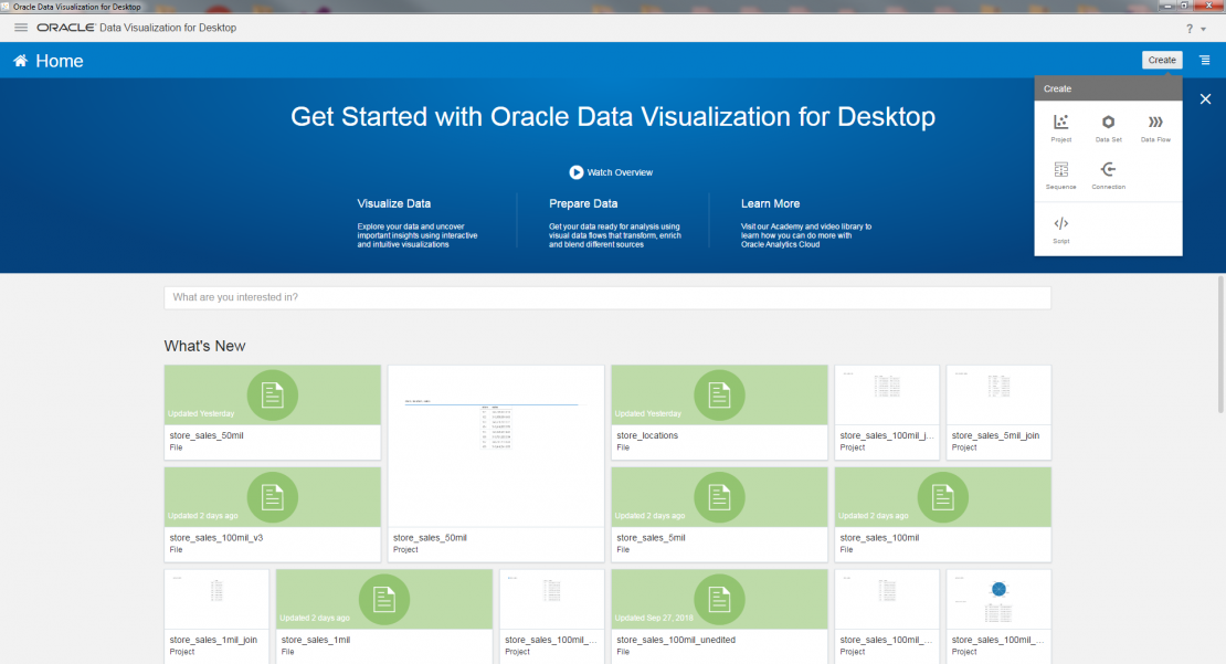 Data Wrangling for Oracle Visualization Desktop - IRI