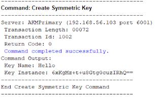 AKM-symmetric-key