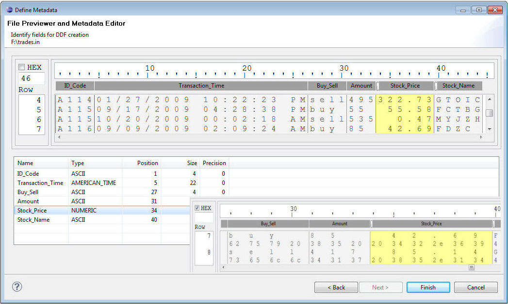 image of metadata discovery wizard